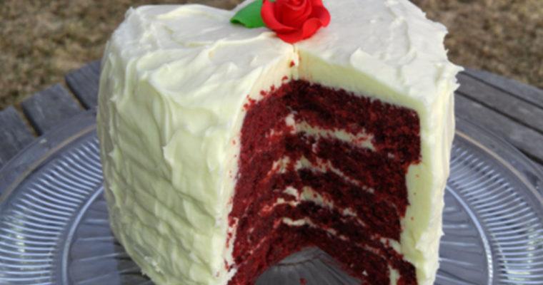 My Southern Red Velvet Cake