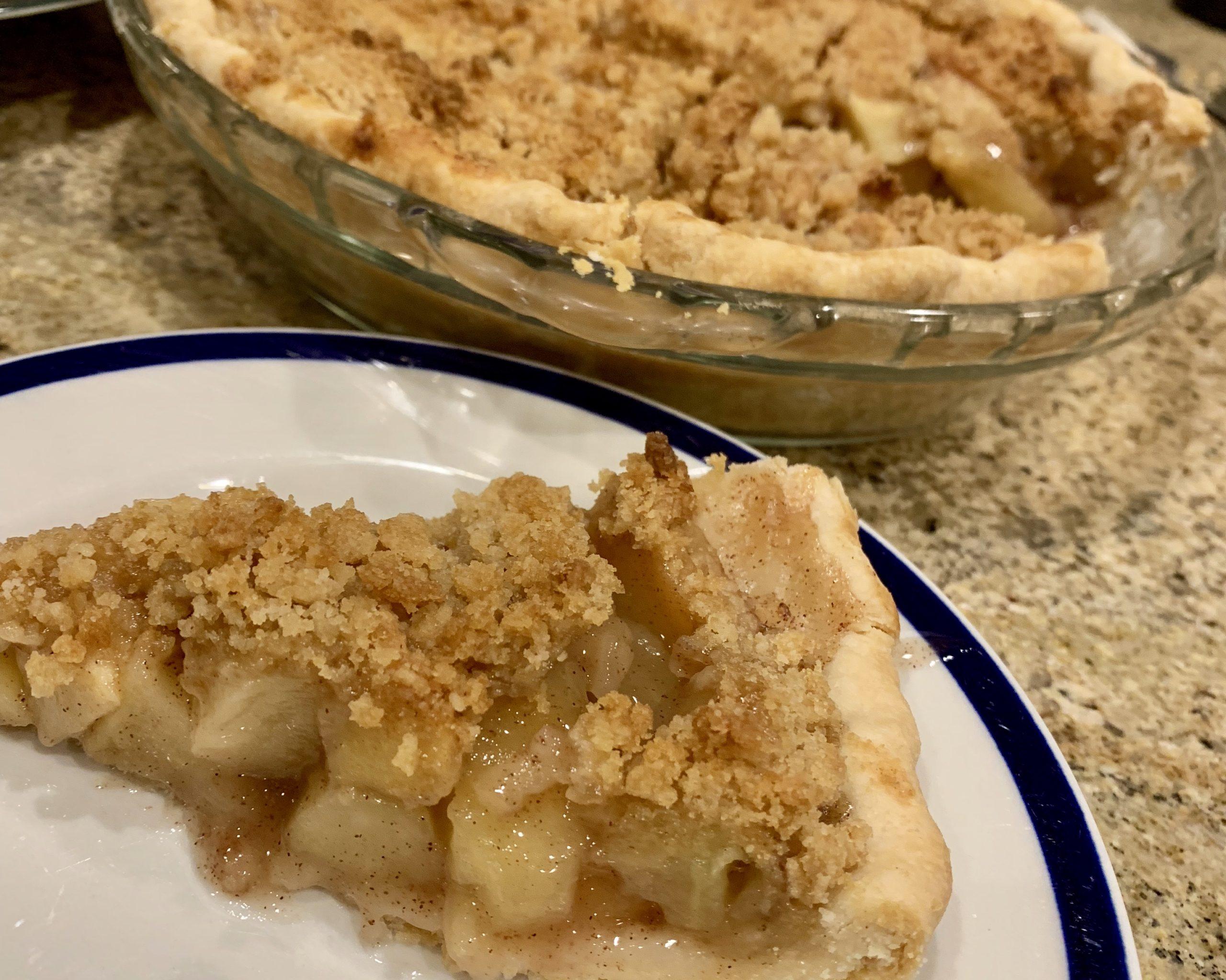 Autumn's Best Apple Crumb Pie